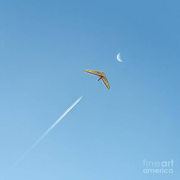 Photograph - Fly Me To The Moon  Square Crop by Ray Warren
