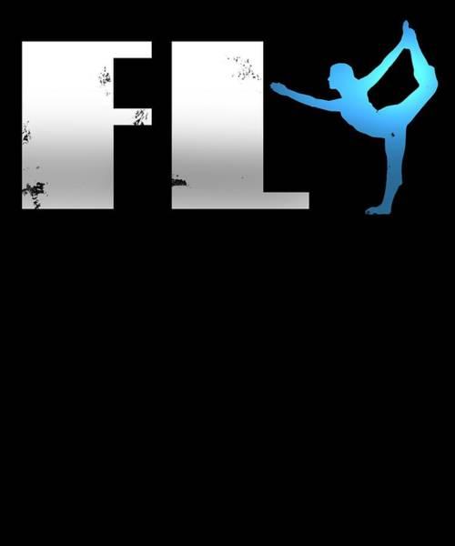 Cheerleaders Digital Art - Fly by Sourcing Graphic Design