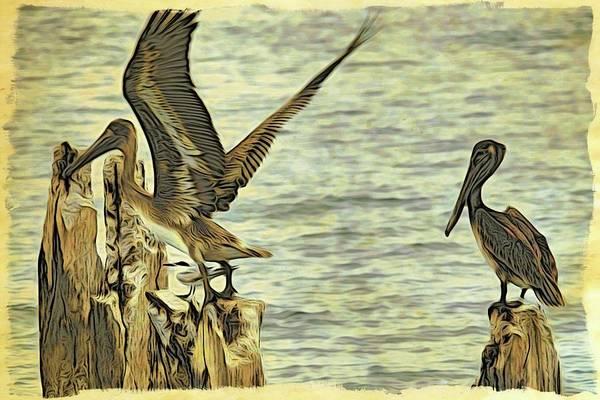 Photograph - Flyaway Pelican by Alice Gipson