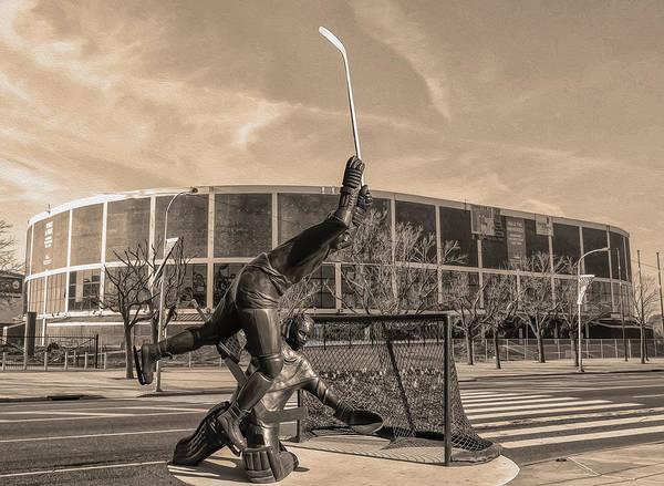 Flyers Photograph - Flyers Hockey - Philadelphia Spectrum by Bill Cannon