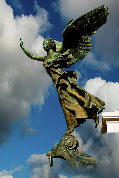 Photograph - Flying Angel by Harry Spitz