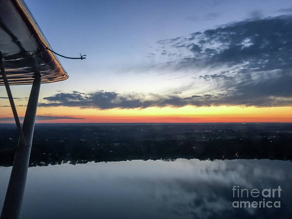 Wall Art - Photograph - Flying At Sunset by Paul Quinn