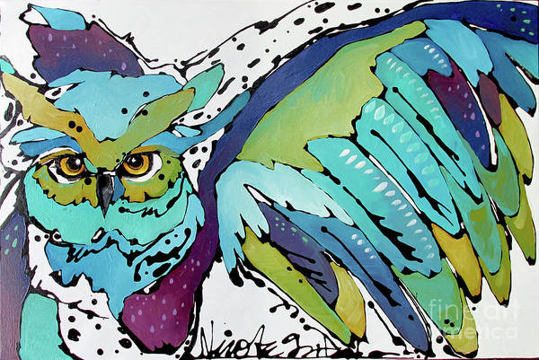 Painting - Flying Away by Nicole Gaitan