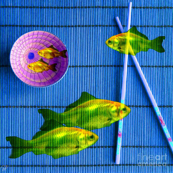 Photograph - Flying Fish And The Pink Moon by LemonArt Photography