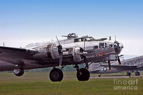 Wall Art - Photograph - Flying Fortress by DJ Florek