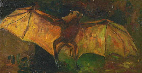 Spread Painting - Flying Fox, 1885 by Vincent Van Gogh