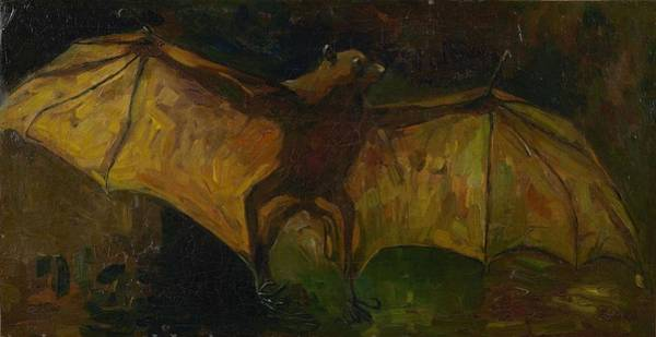 Painting - Flying Fox Nuenen October - November 1884 Vincent Van Gogh 1853   1890 by Artistic Panda