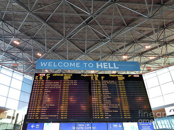 Photograph - Welcome To Hell  by Doc Braham