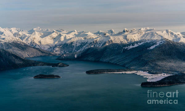 Ketchikan Photograph - Flying Past Le Conte Glacier by Mike Reid