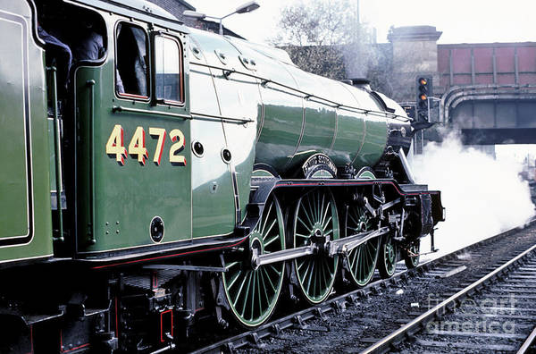 Photograph - Flying Scotsman Locomotive by David Birchall