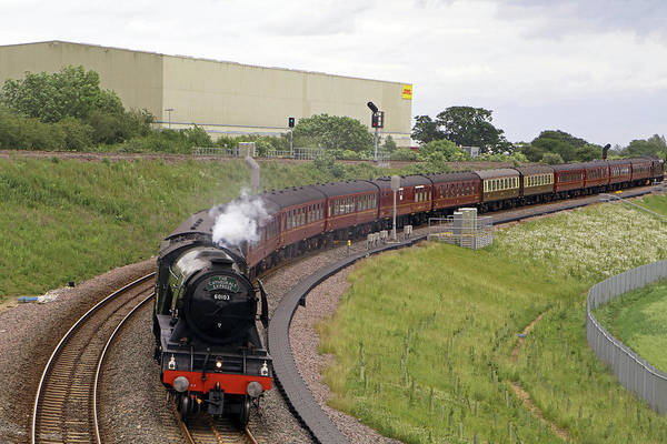 Photograph - Flying Scotsman by Tony Murtagh