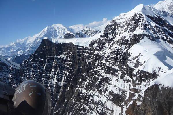 Flying Thru The Great Gorge Art Print