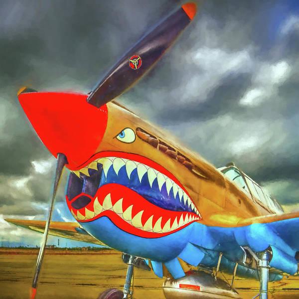 Prop Digital Art - Flying Tiger by Ronald Bolokofsky