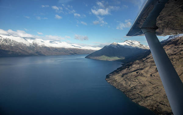 Wall Art - Photograph - Flying To Queenstown by Patrick Flynn