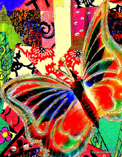 Flying Toward The Light Art Print by Cynda LuClaire