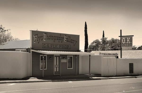 Tombstone Arizona Photograph - Fly's Photography by Gordon Beck