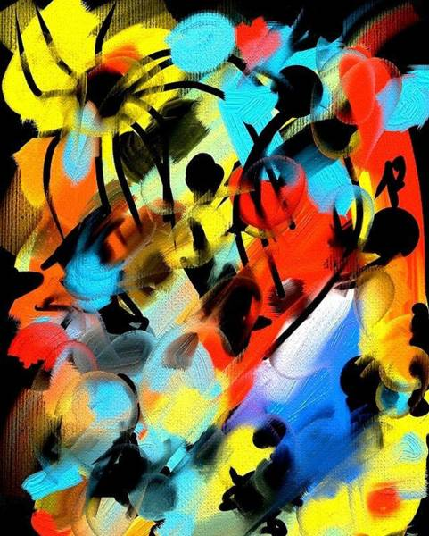 Painting - Flysquid Dream by Neal Barbosa