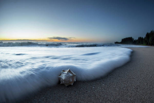 Out Of The Ordinary Photograph - Foam Sweep by Sean Davey
