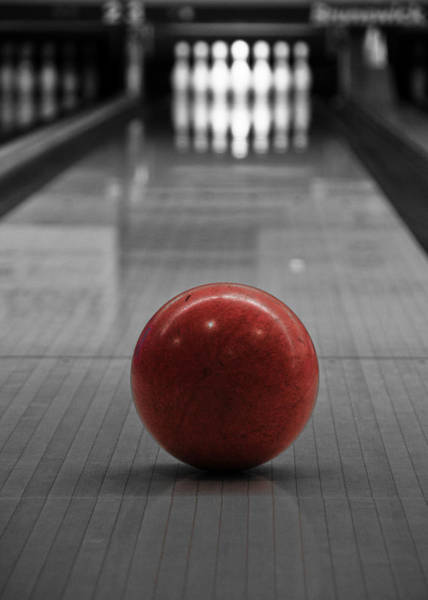 Bowling Ball Wall Art - Photograph - Focus by Edward Myers
