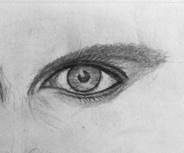 Drawing - Focus On The Good  by Paul Carter
