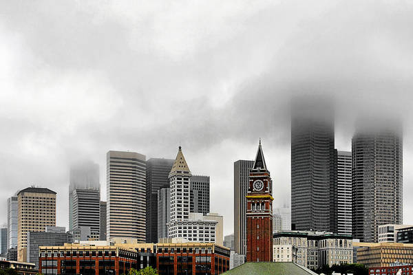 Photograph - Fog Accents Of Seattle Wa by Christine Till