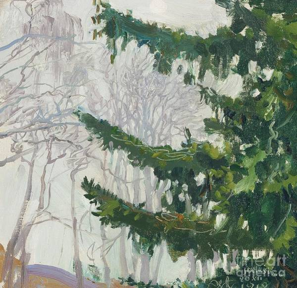 Painting - Fog At Christmas by Celestial Images