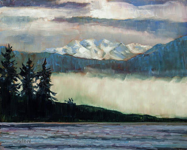 Painting - Fog Bank by Rob Owen