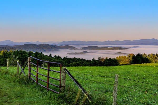 Photograph - Fog In The Valley by Dale R Carlson