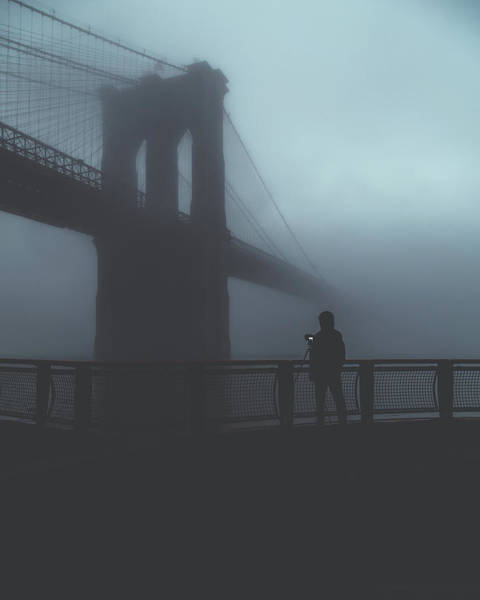 Bridge Photograph - Fog Life  by Anthony Fields