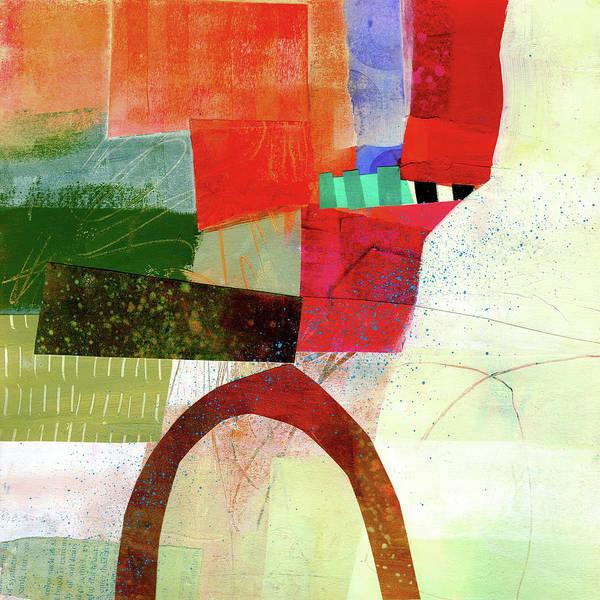 Panel Painting - Fog Lifting #1 by Jane Davies