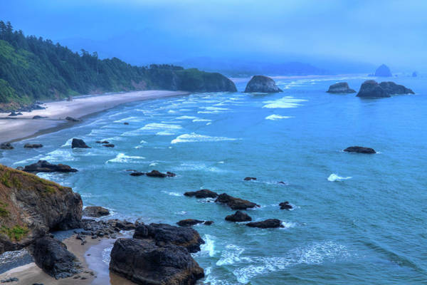 Photograph - Fog On Cannon Beach by David Patterson