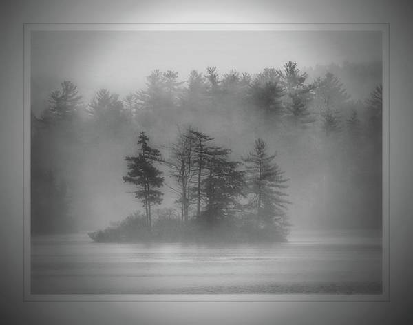 Photograph - Fog On Hermit Lake by Phyllis Meinke