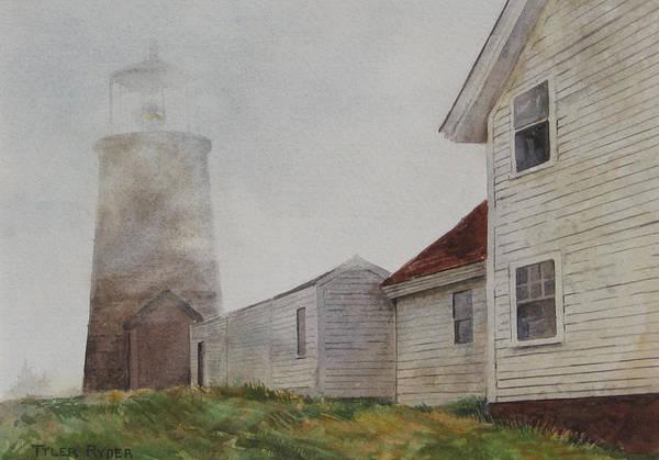 Painting - Fog On Monhegan by Tyler Ryder