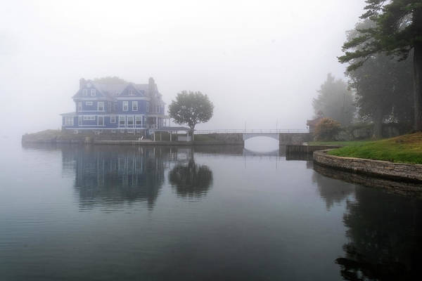 Photograph - Fog On The River by Tom Singleton