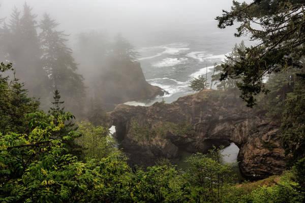 Photograph - Fog Over Natural Bridges by Belinda Greb