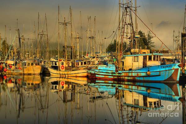 Port Of Vancouver Wall Art - Photograph - Fog Over The Fleet by Adam Jewell