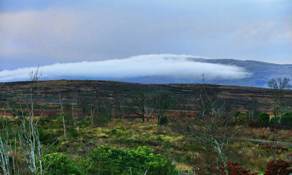 Photograph - Fog Rolling Across The Sperrins by Colin Clarke