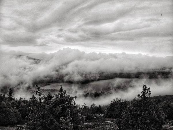 Photograph - Fog Rolling In  by Joseph Caban
