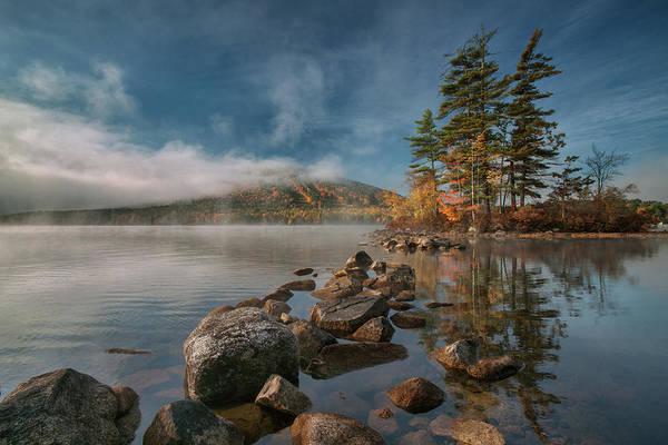 Photograph - Fog Rolls Out by Darylann Leonard Photography