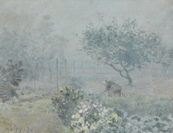 Painting - Fog, Voisins by Alfred Sisley