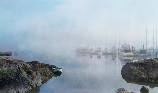 Mixed Media - And Fog Drifts In by Marilyn Wilson