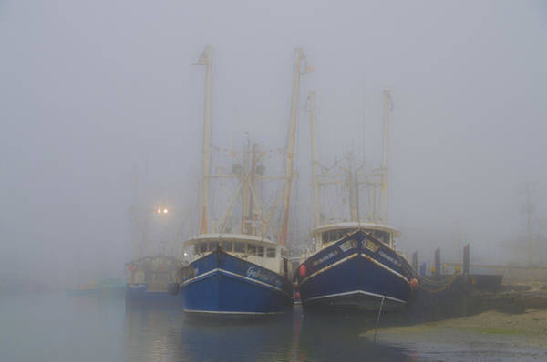 Wall Art - Photograph - Fogged In - Cape May New Jersey by Bill Cannon