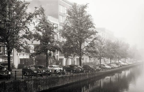 Photograph - Foggy Amsterdam by Joan Carroll