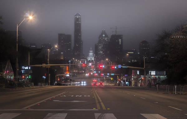 Photograph - Foggy Austin by Van Sutherland