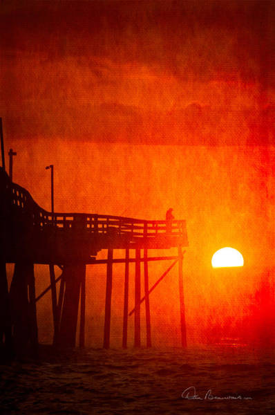 Photograph - Foggy Avalon Sunrise 9129 by Dan Beauvais