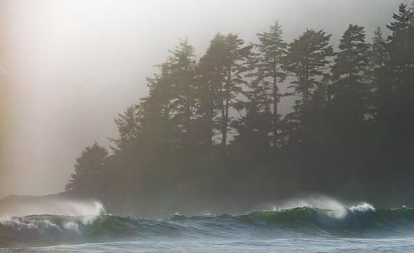 Photograph - Foggy Beach 2 by Randy Hall