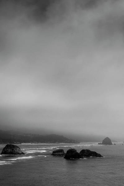Photograph - Foggy Beach by David Patterson