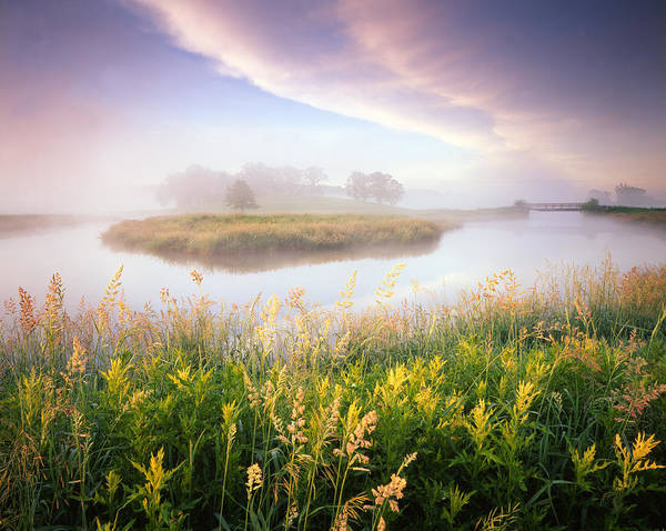 Photograph - Foggy Bend by Ray Mathis