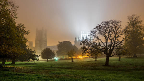 Foggy Cathedral Art Print