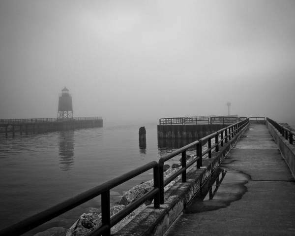 Photograph - Foggy Charlevoix by Just Birmingham